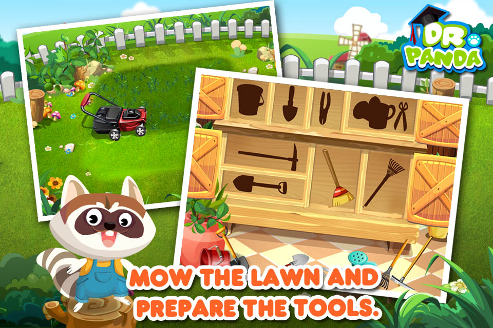 Screenshot Dr. Panda's Veggie Garden