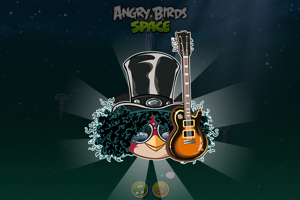 Angry Birds Space iPhone, iPad Screenshot