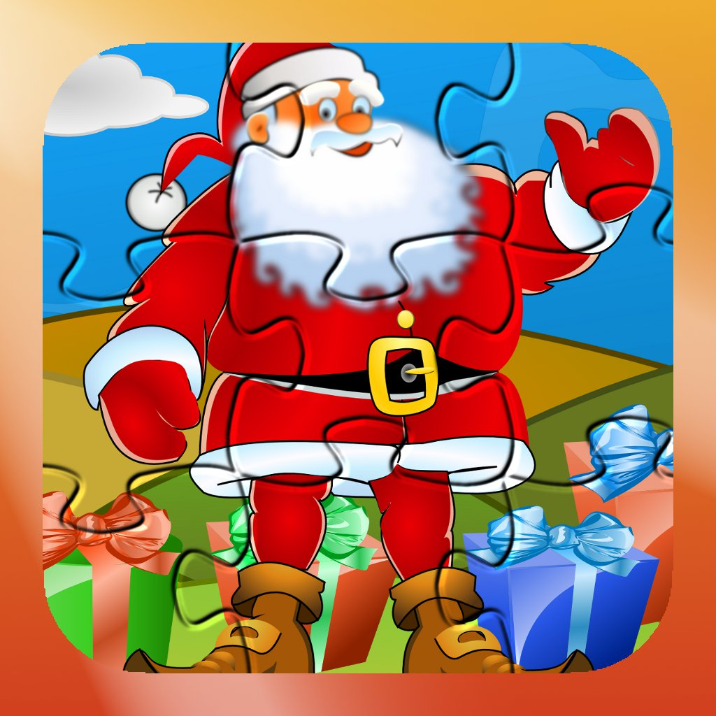 Puzzle for Santa - HD - christmas puzzles for kids and toddlers by Tiltan Games